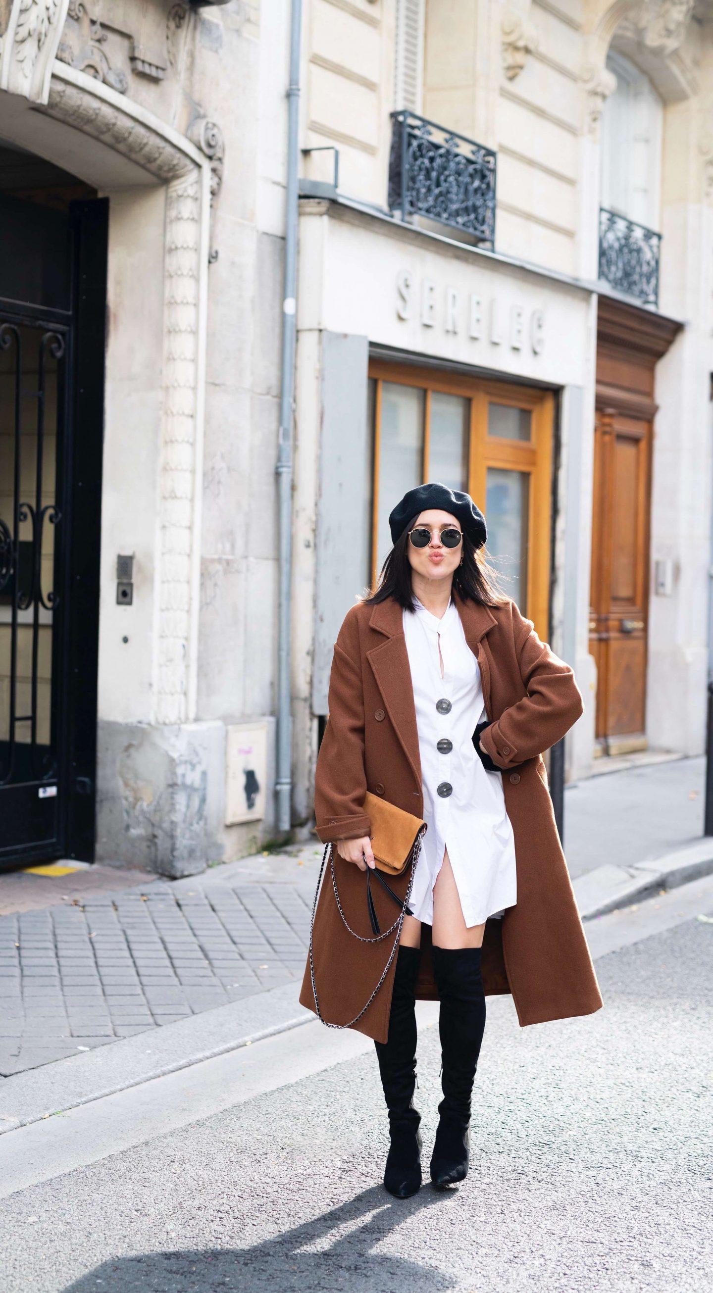 3 ways to wear Trois façons de porter le béret L'atelier d'al latelierdal blog mode fashion lifestyle
